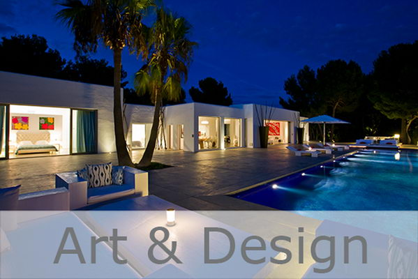 Selected Art and Design Villas