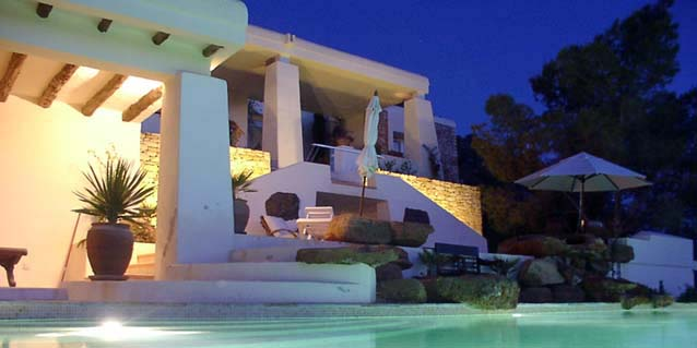 Ibiza holiday villa can roca llisa view ibiza golf course - Roca llisa ibiza ...